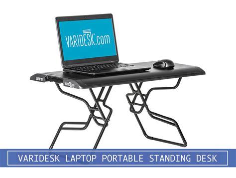 standing desk converter reviews varidesk laptop 30 portable stand up desk converter review