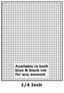 Printable Grid Paper 1 4 Inch Print Copy Services Paper Catalog