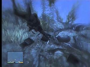 GTA V - Underwater Plane Wreck Location II - YouTube