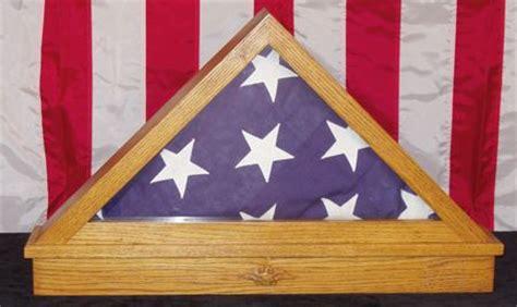 american flag triangle display box woodworking plan