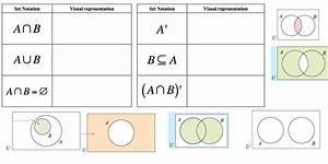 Set Notation  U0026 Venn Diagrams