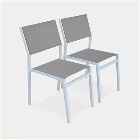 chaise alu stunning salon de jardin aluminium textilene 2 photos