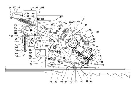 24t Square Baler Diagram by Patent Us8671834 Twine Tensioner Arm Position Sensor