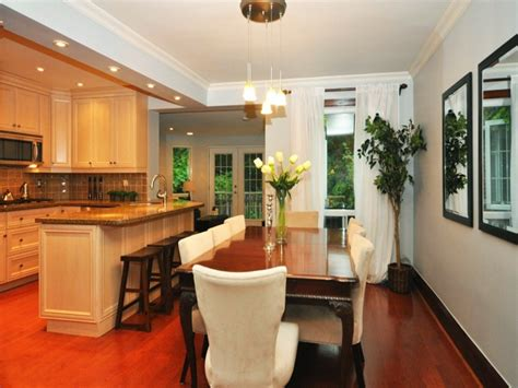 open kitchen and dining room designs combining kitchen and dining room for spacious home 8996
