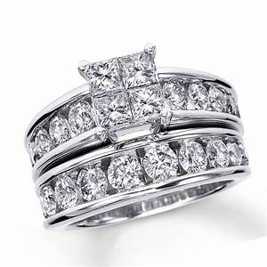 Wedding favors zales overstock helzberg bridal ring sets for Cheap bridal wedding ring sets