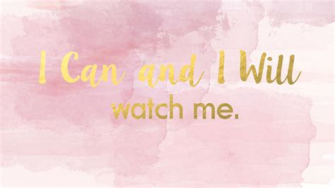 Gold Girly Home Screen Wallpaper by 2560x1440 Quot I Can And I Will Quot Desktop Wallpaper Pink Pastel