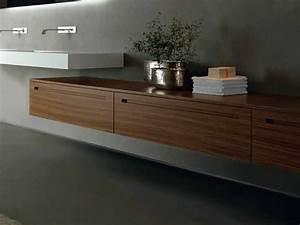 Meuble Salle De Bain Noyer : zero meuble pour salle de bain en noyer by rifra ~ Melissatoandfro.com Idées de Décoration