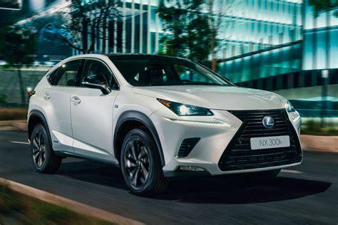 lexus nx  sport trim revealed auto express