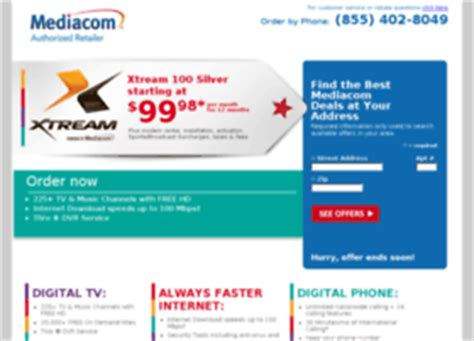 mediacom cable phone number mediacom websites and posts on mediacom