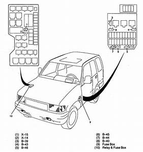 Acura Slx  1998  - Wiring Diagrams