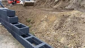 Fundament Für Mauer : mit pflanzsteinen eine mauer bauen gartenblog ~ Whattoseeinmadrid.com Haus und Dekorationen