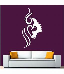 Hoopoe decor white beautiful face wall stickers and decals