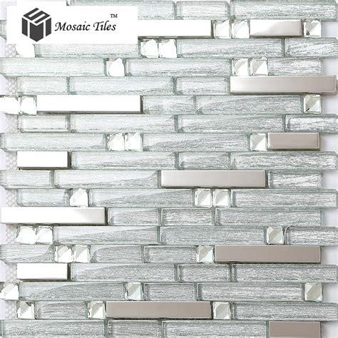 glass kitchen tiles for backsplash uk tst glass tile glass tiles silver 8317