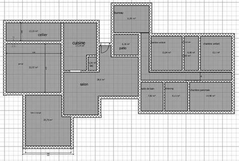 plan maison bois plain pied plan maison bois 107 m 4 ch