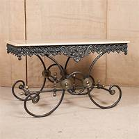 french pastry table LOLO FRENCH ANTIQUES FRENCH BUTCHER/PASTRY TABLE - Lolo ...