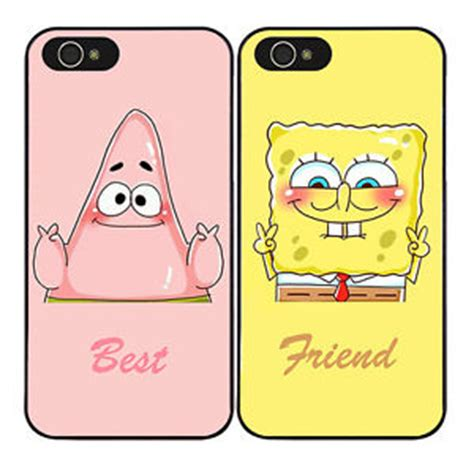 best friend iphone 5 cases best friends spongebob patrick hard case cover for iphone Best