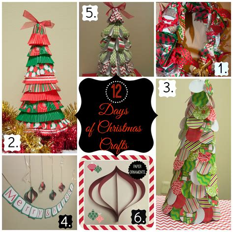 days  christmas crafts day  paper circle christmas