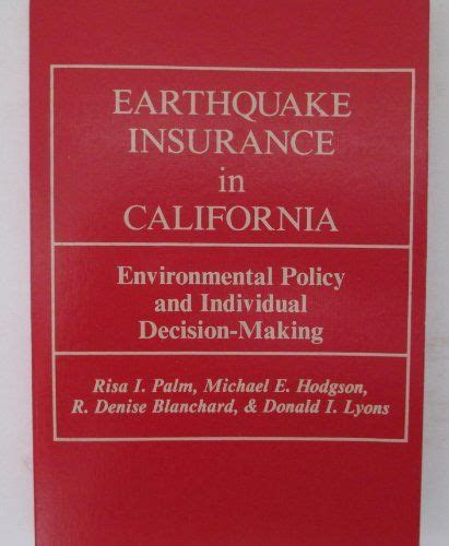 List 9 wise famous quotes about california earthquake insurance: PDF Earthquake Insurance In Cal… | Decision making, Good ...