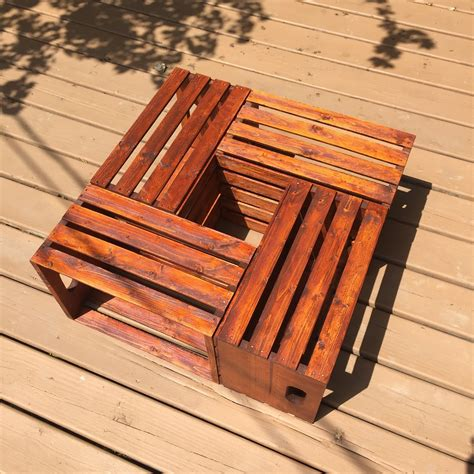 Making a wood hot tub out of 2x6s. DIY Wooden Crate Coffee Table - The Legal Duchess