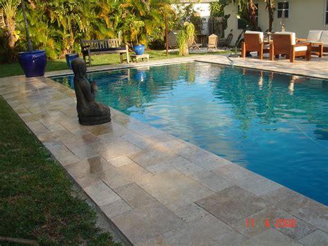 Resurface Pool Deck With Pavers by South Pavers Brick Pavers And Travertine Pavers Three