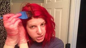 How To Dye Your Hair Bright Red YouTube