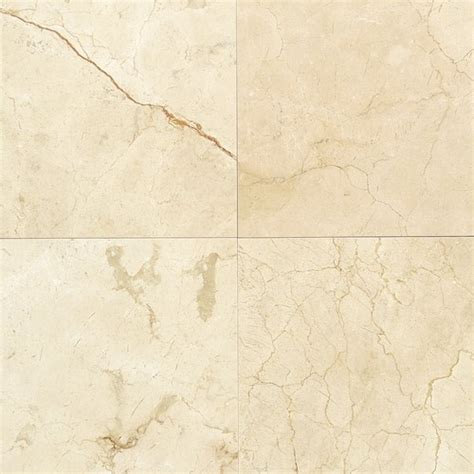polished marble floor tile crema marfil classic polished marble floor wall tiles 12 quot x 12 quot view in your room houzz