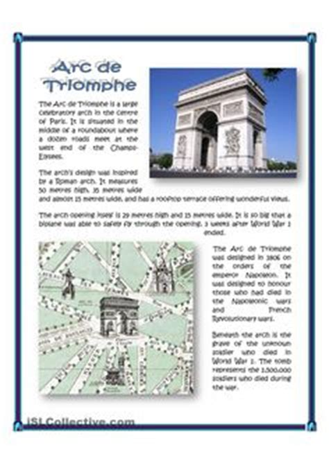 paris worksheets images teaching french french