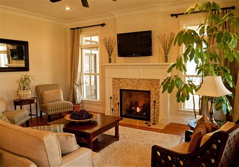 Small Living Room With Fireplace Home Decorating Design