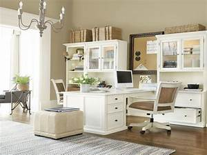 25 awesome home office furniture for two people yvotubecom With home office designs for two