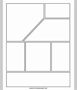 comic strip template free premium templates With comic book page template psd