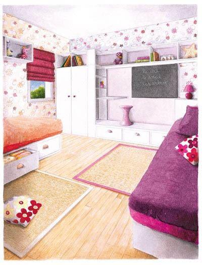 une chambre pour deux enfants quelle déco pour deux enfants dans une même chambre