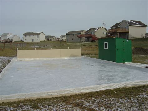 how to build a backyard rink backyard rink ideas outdoor furniture design and ideas