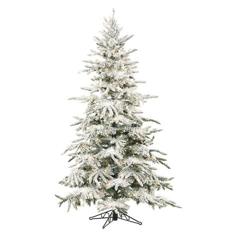 shop fraser hill farm 7 ft 6 in pre lit mountain pine