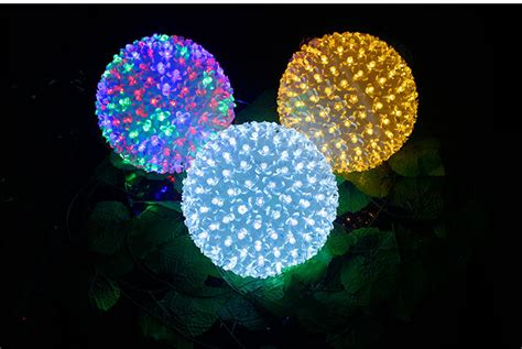 outdoor christmas led light ball wedding stage light up