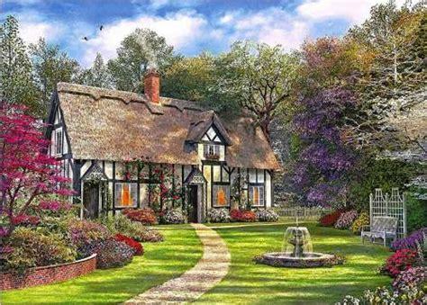 Victorian Garden Jigsaw By Dominic Davison (ana1020, 1000