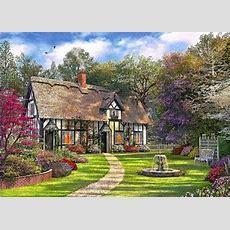 Victorian Garden Jigsaw By Dominic Davison (1020, 1000