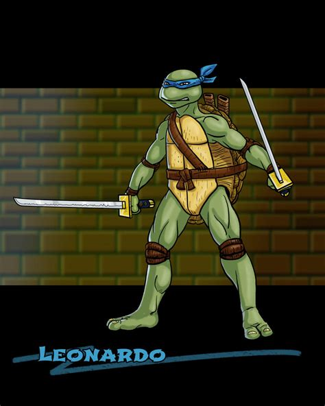 Leonardo TMNT by DLTabor on DeviantArt