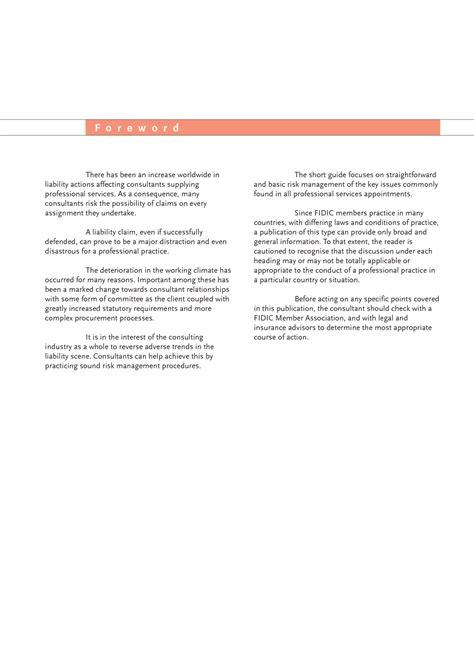 risk management  short guide international federation