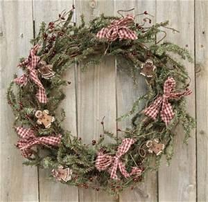 Chocolate Gingerbread Pine Wreath Christmas