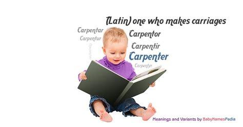 carpenter meaning  carpenter   carpenter