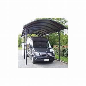 Carport Camping Car : votre carport en aluminium gris pour camionnette camping ~ Melissatoandfro.com Idées de Décoration