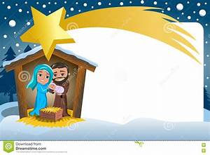Frame Nativity Border – Merry Christmas & Happy New Year Arts