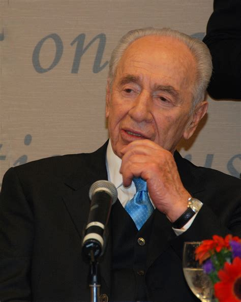 "Peres Says Fatah-Hamas Agreement Is ""Split"" peres"
