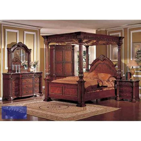 Wood Canopy Bedroom Sets by 17 Best Images About Bedroom Sets I Really To On