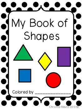 my book of shapes kindergarten by mauro tpt 944 | original 686522 1