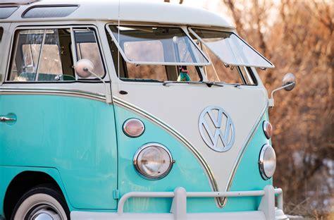Volkswagen 23-window Microbus + Eriba Puck Camper