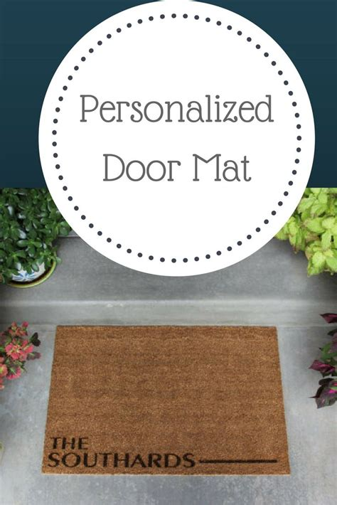 cheap personalized doormats best 25 front door mats ideas on farmhouse