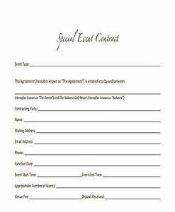 Sample Event Planning Contract Free 15 Event Contract Templates In Ms Word Google Docs