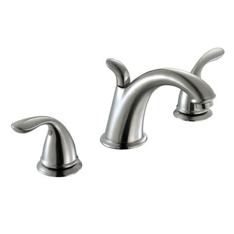 Glacier Bay Bathroom Faucets by Glacier Bay Builders 8 In Widespread 2 Handle High Arc