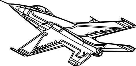 plane coloring pages f16 airplane coloring page wecoloringpage